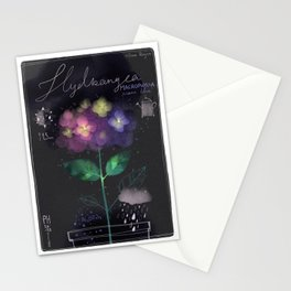 "Botanical illustration ""Hydrangea Macrophylla"" Stationery Cards"