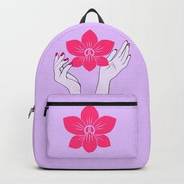 Holy orchid Backpack