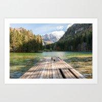 Plansarsko Jezero Art Print