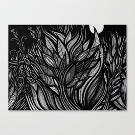 Whispering field Canvas Print