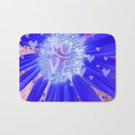 Hearts & Love Purple Fusion Bath Mat