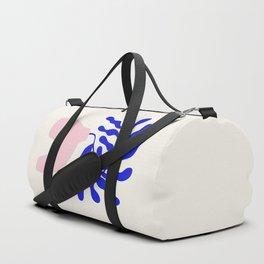 Blue Matisse Ferns II Duffle Bag