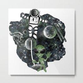 space balloon Metal Print