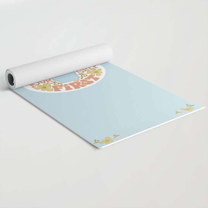 Water Yourself First Yoga Mat
