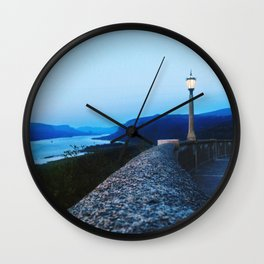 Columbia River Gorge Wall Clock