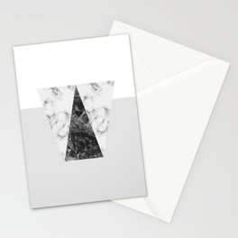 MARBLE - GREY Stationery Cards
