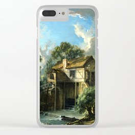 François Boucher Mill at Charenton Clear iPhone Case