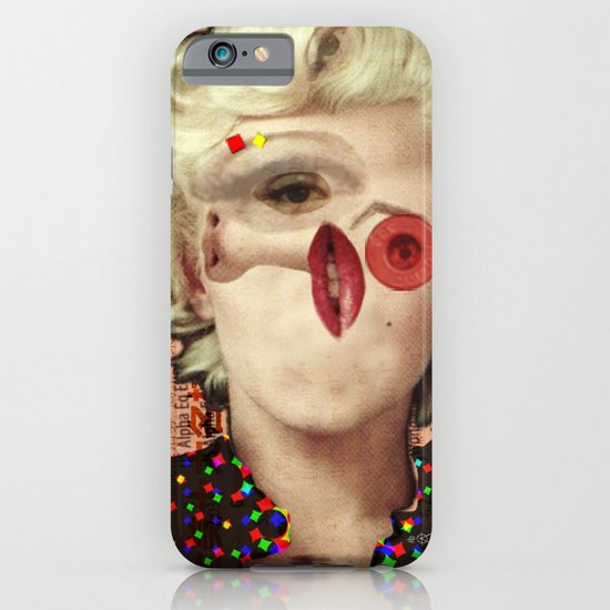 Mix Marilyn Collage 4 iPhone & iPod Case