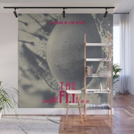 The Fly, horror movie poster, David Cronenberg, Jeff Goldblum, alternative playbill Wall Mural