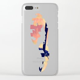 Tempest Island (Warmer Version) Clear iPhone Case