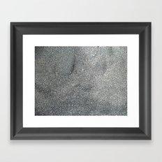 Sand Abstract Framed Art Print
