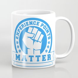 D20 Experience Points Matter Coffee Mug