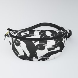 meanwhile penguins Fanny Pack