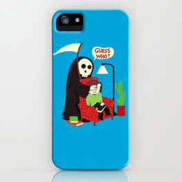 Guess Who iPhone Case