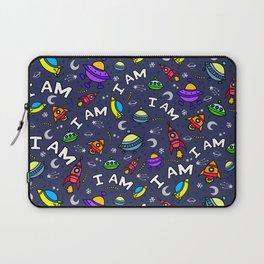 I Am Spaceless Laptop Sleeve