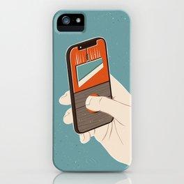 Cutting iPhone Case