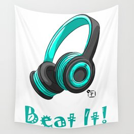 Beat It! Wall Tapestry