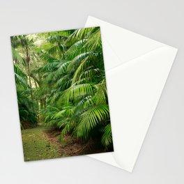 Subtropical vegetation Stationery Cards