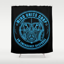 Mind Units Corp - XM Emergency Response Resistance Version Shower Curtain