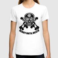 roller derby T-shirts featuring Roller Derby Until Death by Mean Streak
