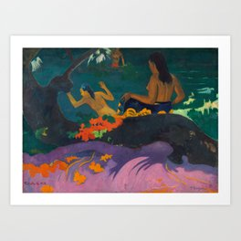 "Paul Gauguin ""Fatata te Miti (By the Sea)"" Art Print"