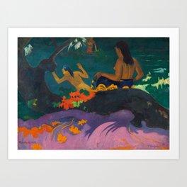 "Paul Gauguin ""Fatata te Miti (By the Sea)"" Art Print"