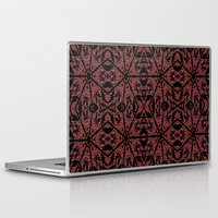gothic Laptop & iPad Skins featuring GOTHIC by 2sweet4words Designs