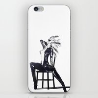 the shining iPhone & iPod Skins featuring Shining by DeeDee