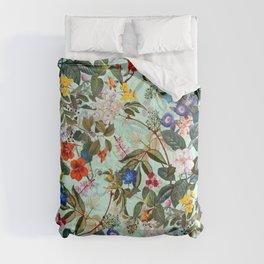 Summer Botanical Garden XVI Comforters