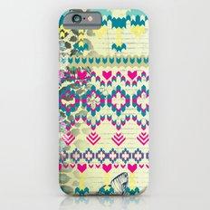Fluorescent Aztec Slim Case iPhone 6s