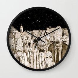 Innsmouth Meeting Wall Clock