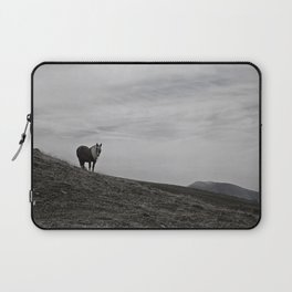 A Pony in the Pyrenees Laptop Sleeve