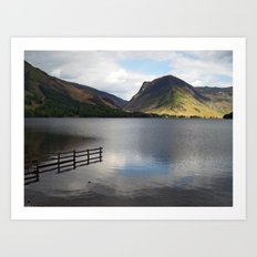 Buttermere and Fleetwith Pike Art Print
