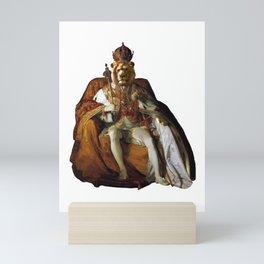 King Lion Mini Art Print