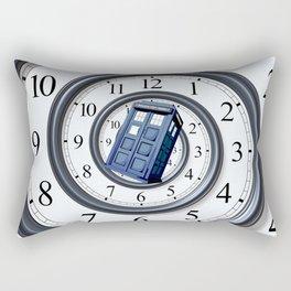 Tardis Time Vortex Rectangular Pillow