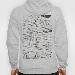 Birch bark pattern Hoody