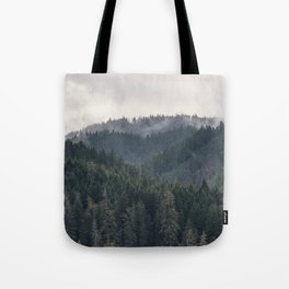 Pacific Northwest Forest - Nature Photography Tote Bag