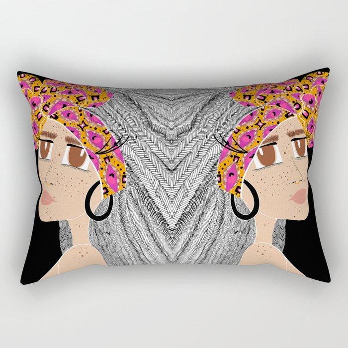 ohhhh baby Rectangular Pillow