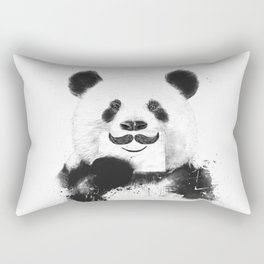 Funny panda Rectangular Pillow
