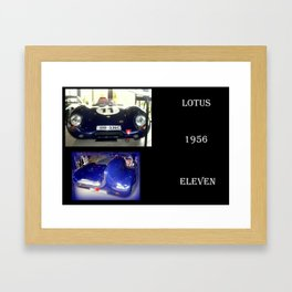 1956 Lotus Eleven  Framed Art Print