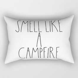 Smell Like a Campfire Rectangular Pillow