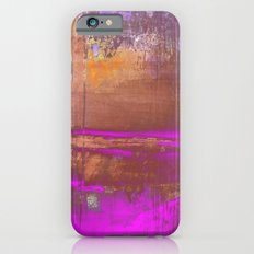 Pink Color Patches iPhone 6s Slim Case