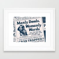 maryland Framed Art Prints featuring Maryland by Post Typography