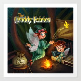 The Cruddy Fairies Art Print