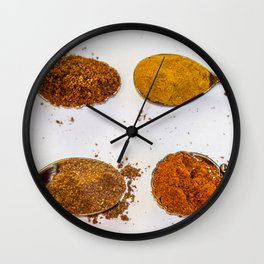 Spice of Life. Wall Clock