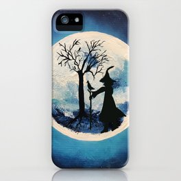 Witch Moon iPhone Case