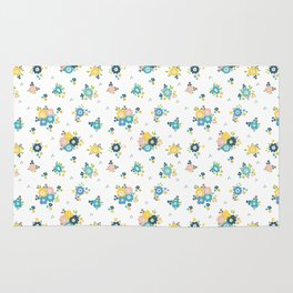 Cute flowers everywhere Rug