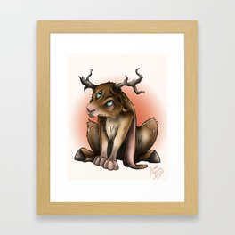 Dear Bunni Framed Art Print