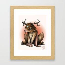 Dear Bunni Framed Art Print