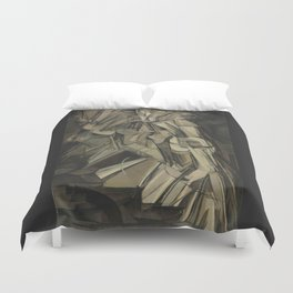 Marcel Duchamp - Nude Descending a Staircase, No. 2 Duvet Cover